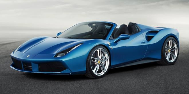 Компания Ferrari подготовила родстер 488 Spider
