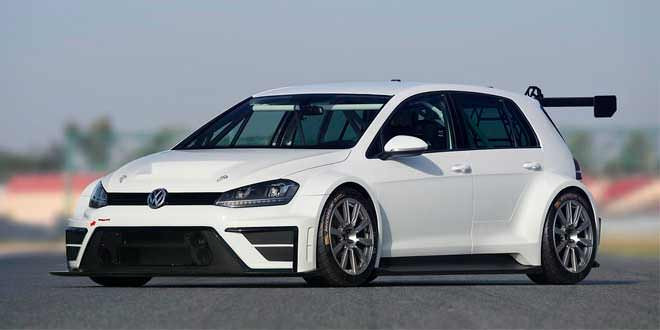 Компания Volkswagen подготовила гоночный Golf