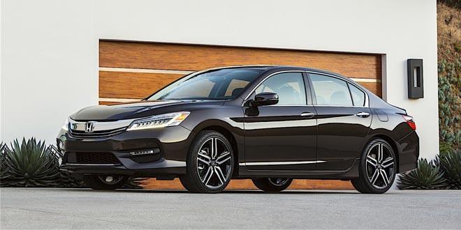 Седан Honda Accord обновился