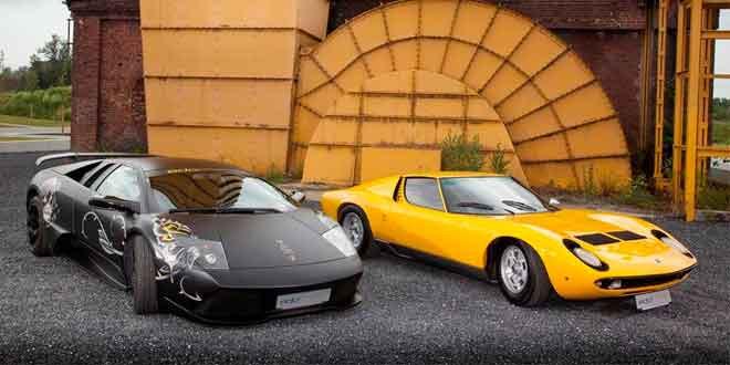 Lamborghini Miura встретилась с Murcielago