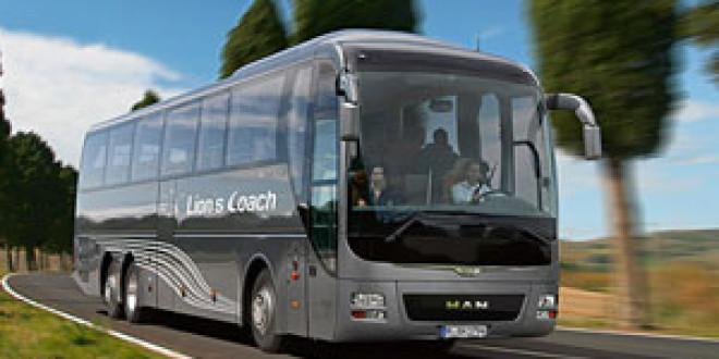 MAN выпустила юбилейный туристический автобус Lion's Coach