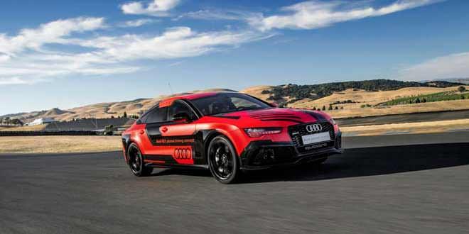 Представлена облёгченная версия беспилотника Audi RS7