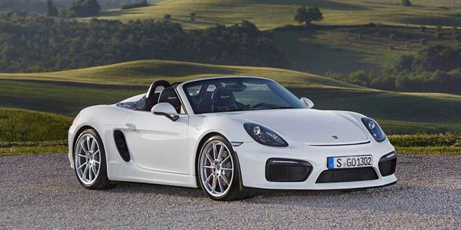 Летняя фотосессия Porsche Boxster Spyder