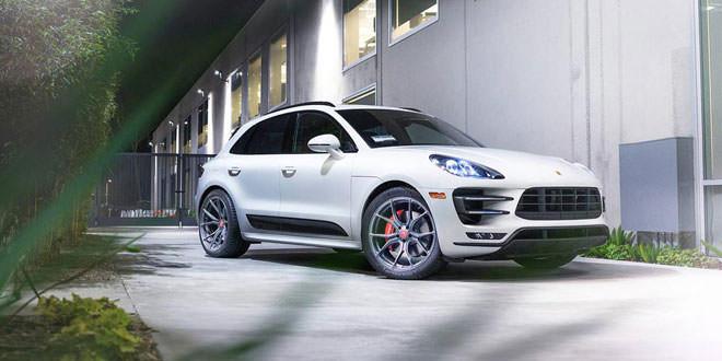 Porsche Macan Turbo на дисках Vorsteiner