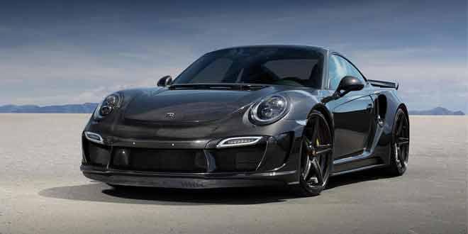Ателье TopCar выпустило Porsche 911 Stinger GTR Carbon Edition