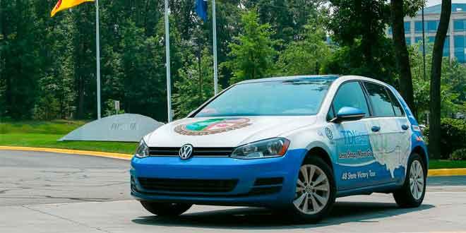 Дизельный Volkswagen Golf установил новый рекорд экономичности