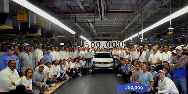 Компания Volkswagen выпустила 500 000-й Passat в США