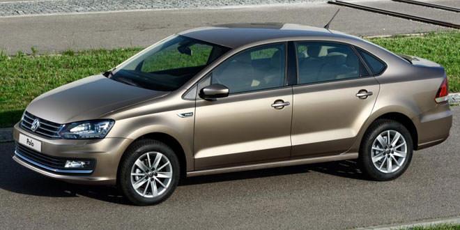 Рестайлинговый Volkswagen Polo Sedan теперь и в Украине