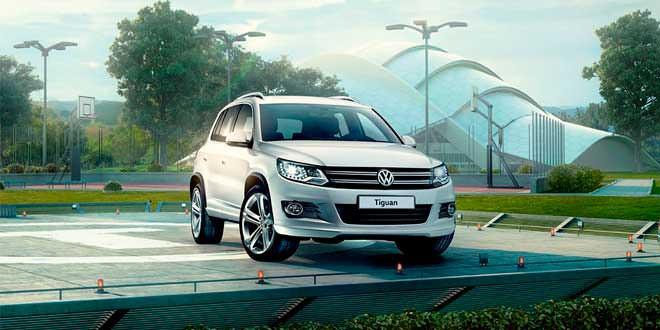 Спортивный Volkswagen Tiguan подготовили для рынка России