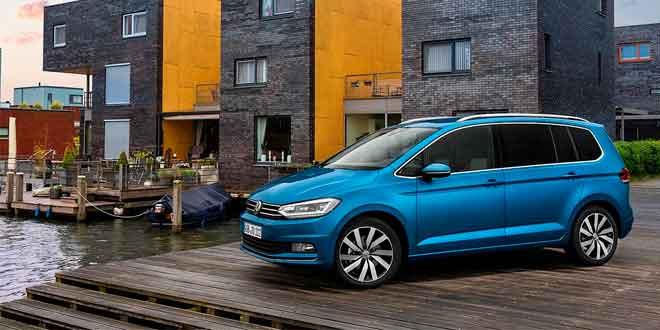 Официальный фотосет нового Volkswagen Touran
