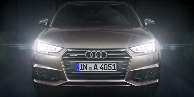 Покупатели новой Audi A4 получат ксенон в «базе» и LED-фары за доплату