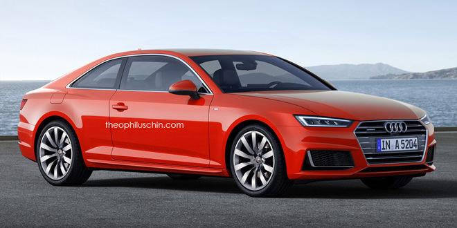 Рендер Audi A5 Coupe — все ближе к реальности