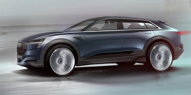 Audi e-tron quattro concept — предвестник электрического Q6