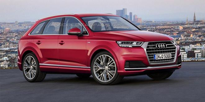 Рендер нового поколения Audi Q5 с пакетом S line