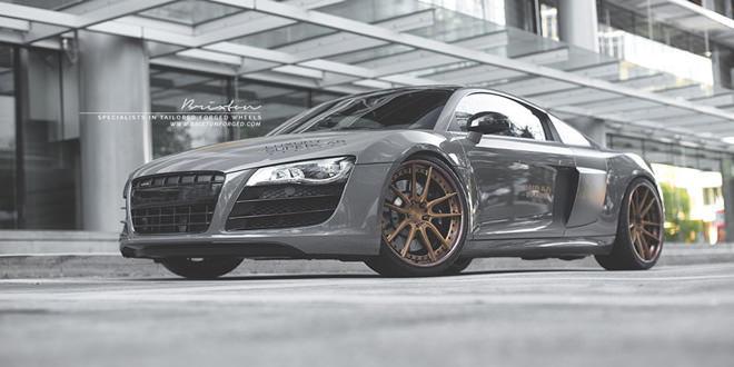 Audi R8 V10 в легком стайлинге от Wrap Workz