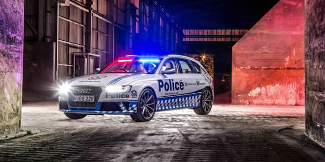 Универсал Audi RS4 Avant встал на службу полиции в Австралии