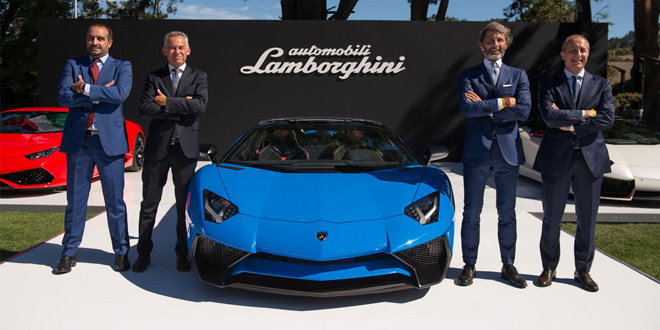 Известна стоимость Lamborghini Aventador SV Roadster