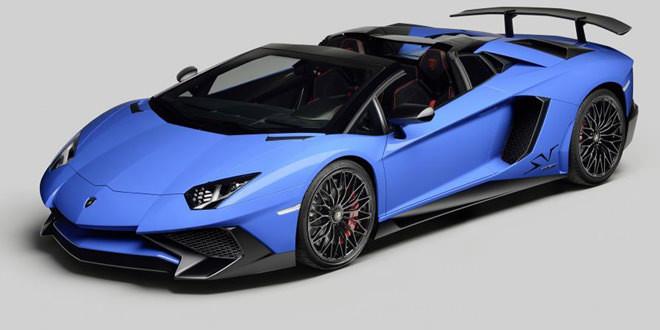 Долгожданный Lamborghini Aventador SV Roadster прибыл в Пеббл-Бич