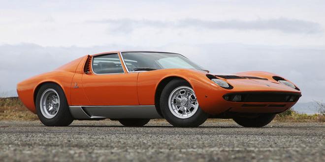 С аукциона ушла Lamborghini Miura P400 S за 2,3 млн долл.