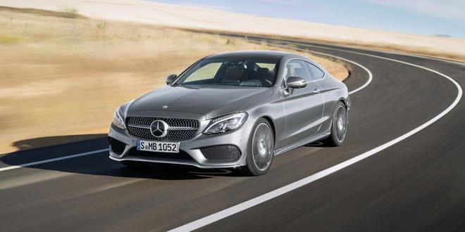 Рассекречен Mercedes-Benz C-Class Coupe нового поколения
