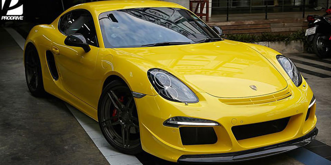 RUF Porsche Cayman S от тайской мастерской ProDrive
