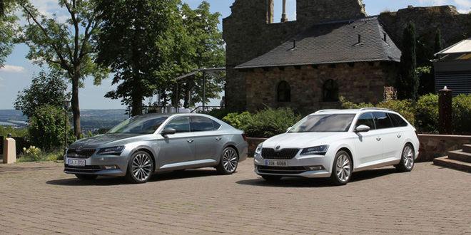 О новой Skoda Superb в Интернете пишут чаще, чем о Mercedes-Benz GLE