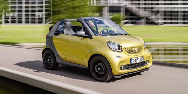 Smart ForTwo стал кабриолетом