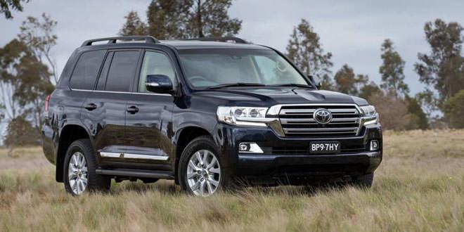 Компания Toyota обновила Land Cruiser 200