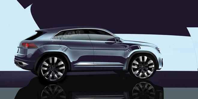 Volkswagen Tiguan Coupé R выйдет в 2018 году