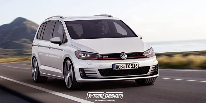Рендер Volkswagen Touran GTI от X-Tomi Design
