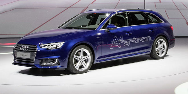 Семейство Audi A4 получило экономичные версии g-tron и Ultra