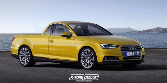Пикап из Audi A4 по версии X-Tomi Design