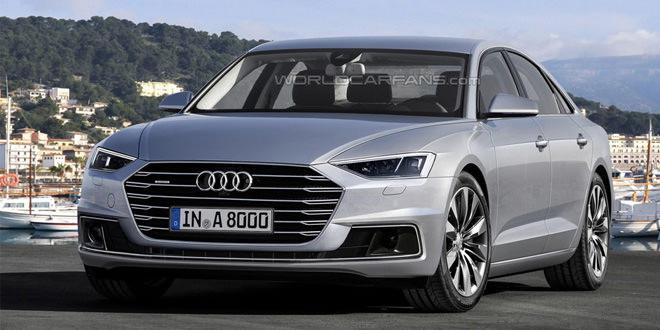 Рендер Audi A8 по мотивам концепта prologue