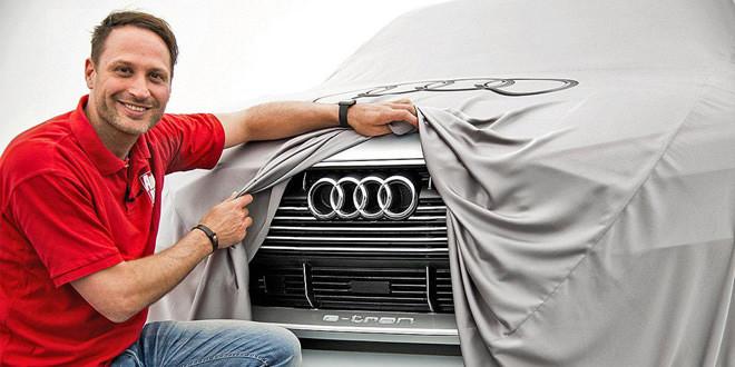 Концепт электрокроссовера Audi на первых фото