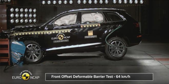 Audi Q7 нового поколения прошёл краш-тесты Euro NCAP на 5 баллов