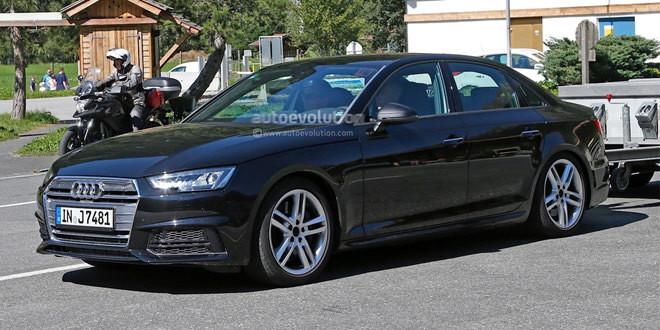 Audi S4 подловили на дорожных испытаниях в Альпах без камуфляжа