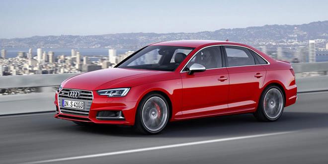 Audi привезла во Франкфурт новые S4 и S4 Avant