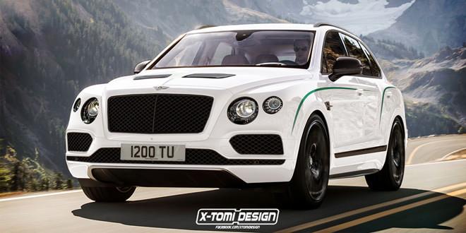 Bentley выпустит «горячую» версию Bentayga