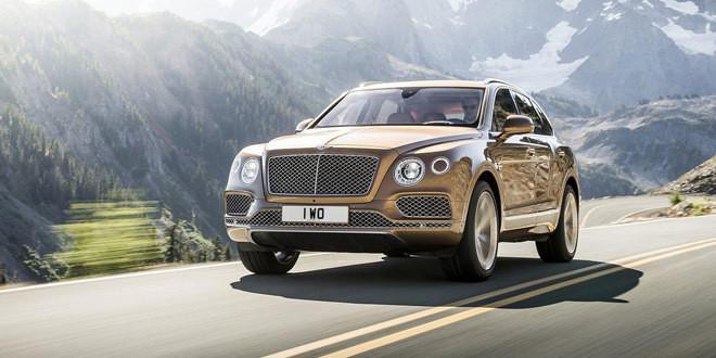 Bentley Bentayga оценили в $229 100 за базовую версию