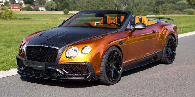 Mansory показал кабриолет Bentley Continental GTC в карбоновом обвесе