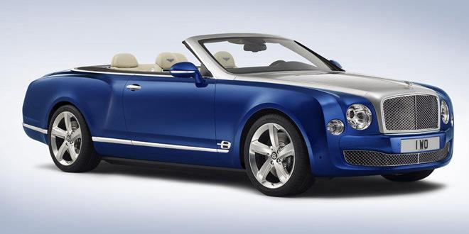 Кабриолет Bentley Mulsanne Grand Convertible перейдет в серию в 2016 году