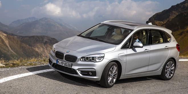 Компания BMW подготовила гибридный 2-Series Active Tourer