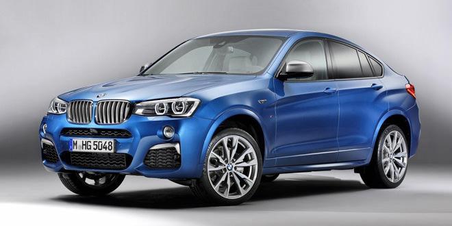 Кроссовер BMW X4 получил спортивную версию