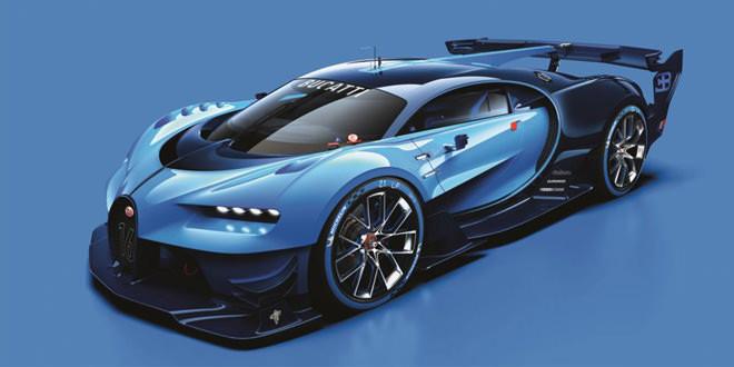 Компания Bugatti показала виртуальный гиперкар Vision Gran Turismo