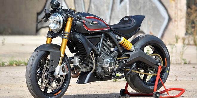 Ducati Scrambler Showstopper по версии WalzWerk Racing