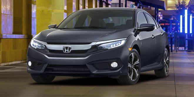 Седан Honda Civic перешел в десятое поколение
