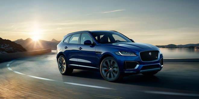 Jaguar рассекретил свой первый кроссовер F-Pace
