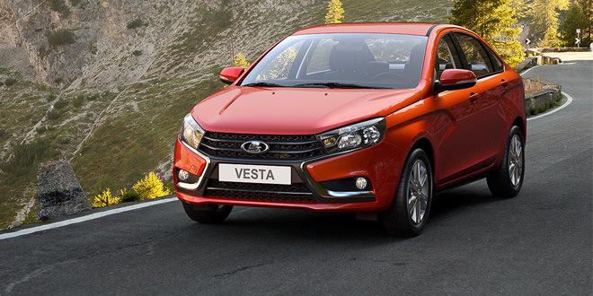 АвтоВАЗ начал производство седана Lada Vesta