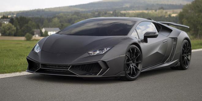Lamborghini Huracan получил от Mansory карбоновый боди-кит и 1 250 сил