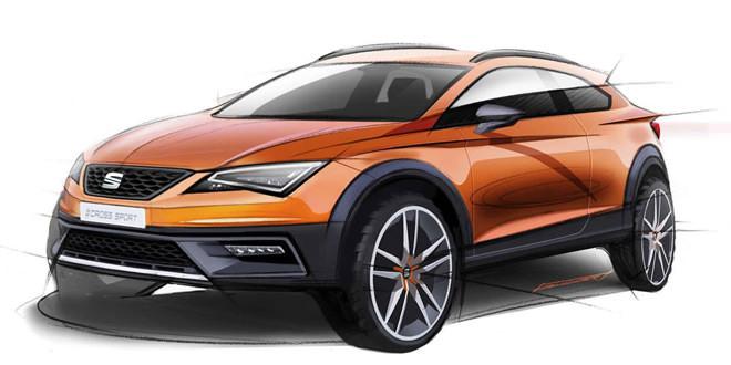 SEAT раскрыл внешность концепта Leon Cross Sport